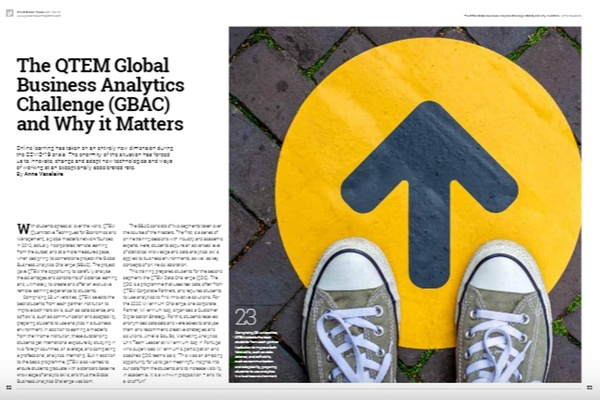 GBAC featured in EFMD Global Focus magazine